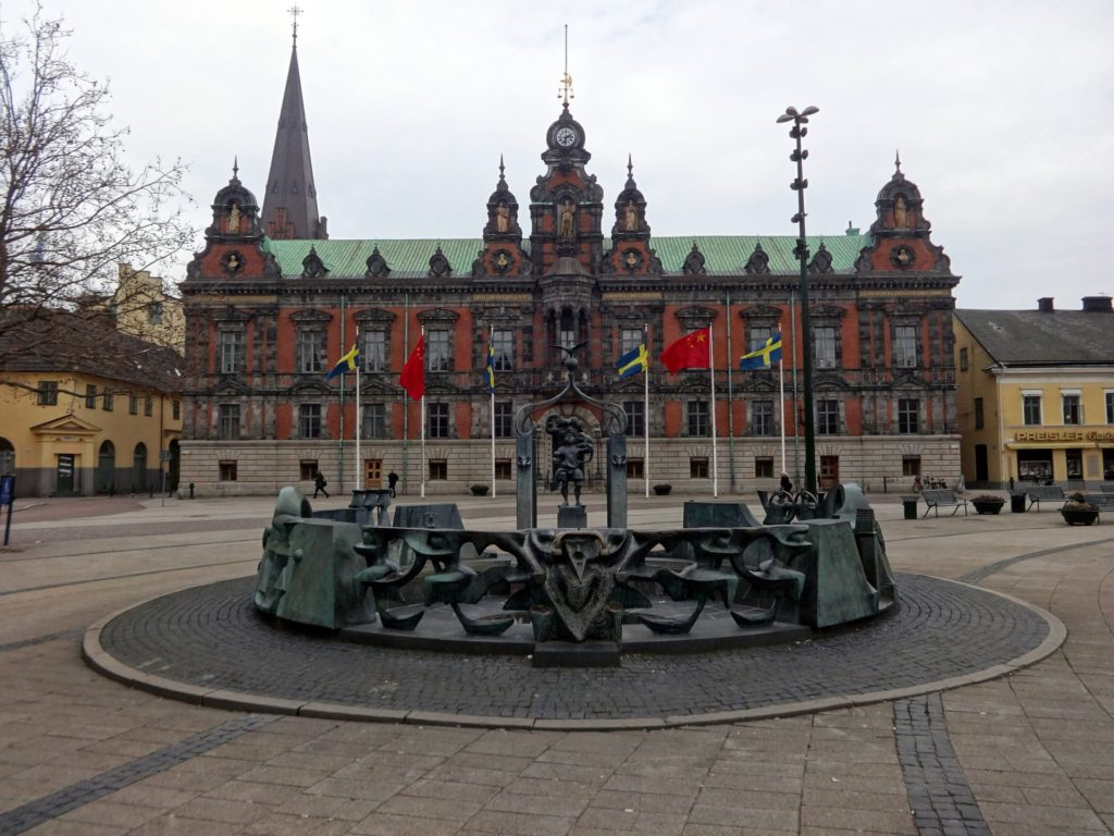 the city hall Malmo in Sweden just one thing to see when spending a day in Malmo | How to travel from Copenhagen to Malmo featured by top international travel blog, Tracy's travel in time