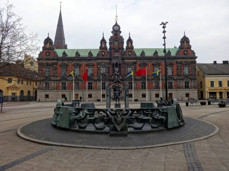 the city hall Malmo in Sweden just one thing to see when spending a day in Malmo