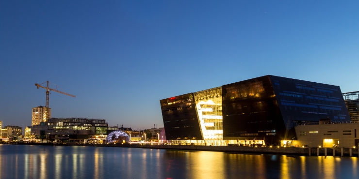 The Royal Library - Den Sorte Diamant | things to do in Copenhagen Denmark