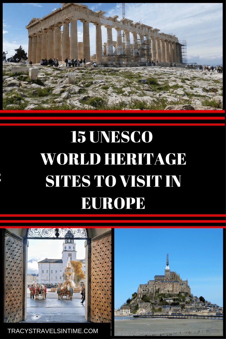 UNESCO SITES IN EUROPE