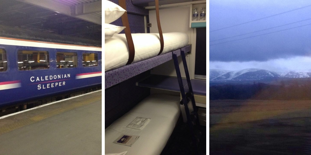 caledonian sleeper from London to Inverness