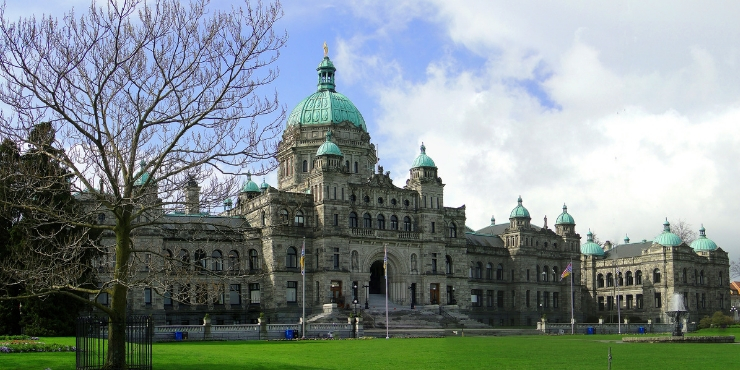 Parliament buildings Victoria Canada