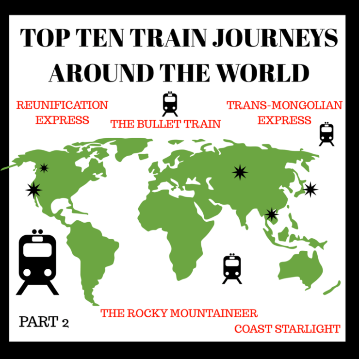 TOP 10 RAILWAY JOURNEYS