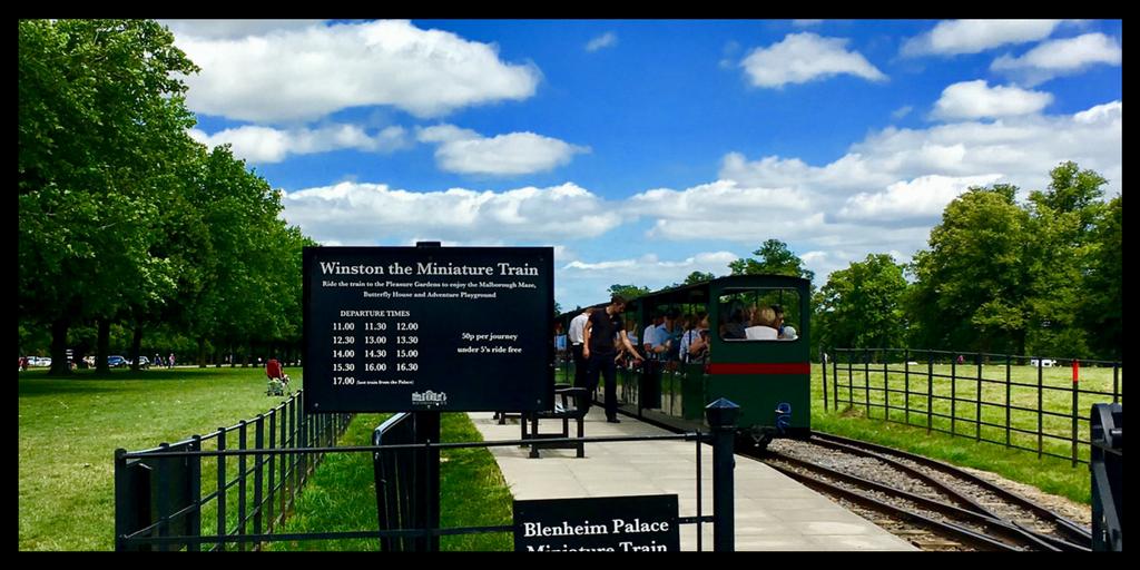blenheim train