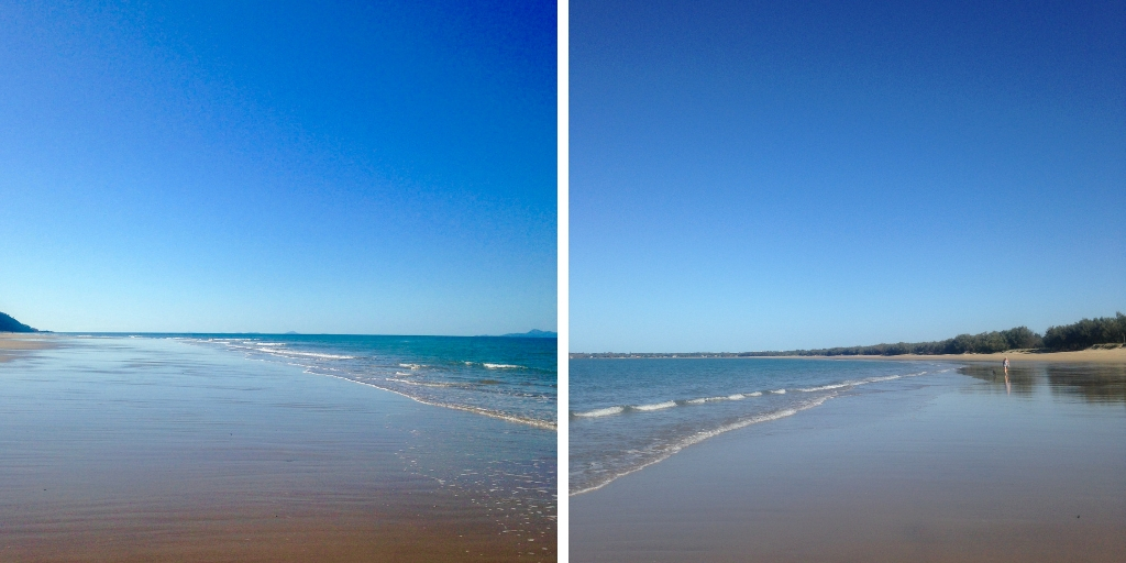Beaches in Mackay Queensland