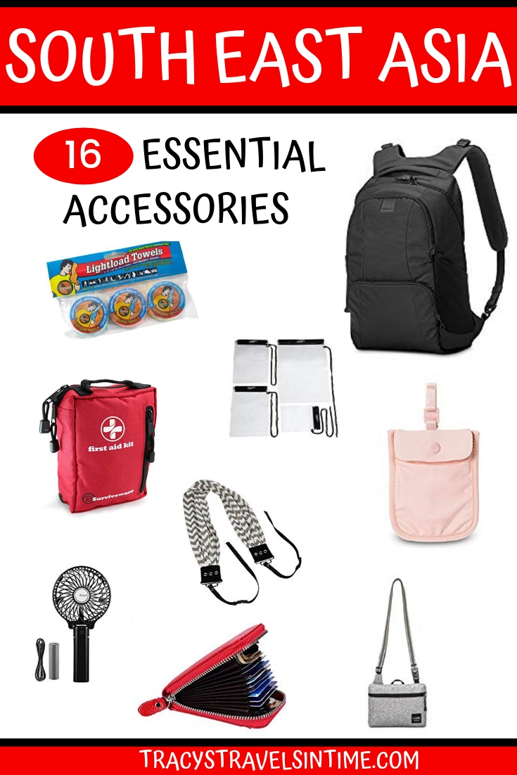 16 essential travel accessories for South East Asia