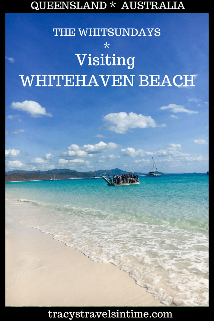 VISITING WHITEHAVEN BEACH IN THE WHITSUNDAYS