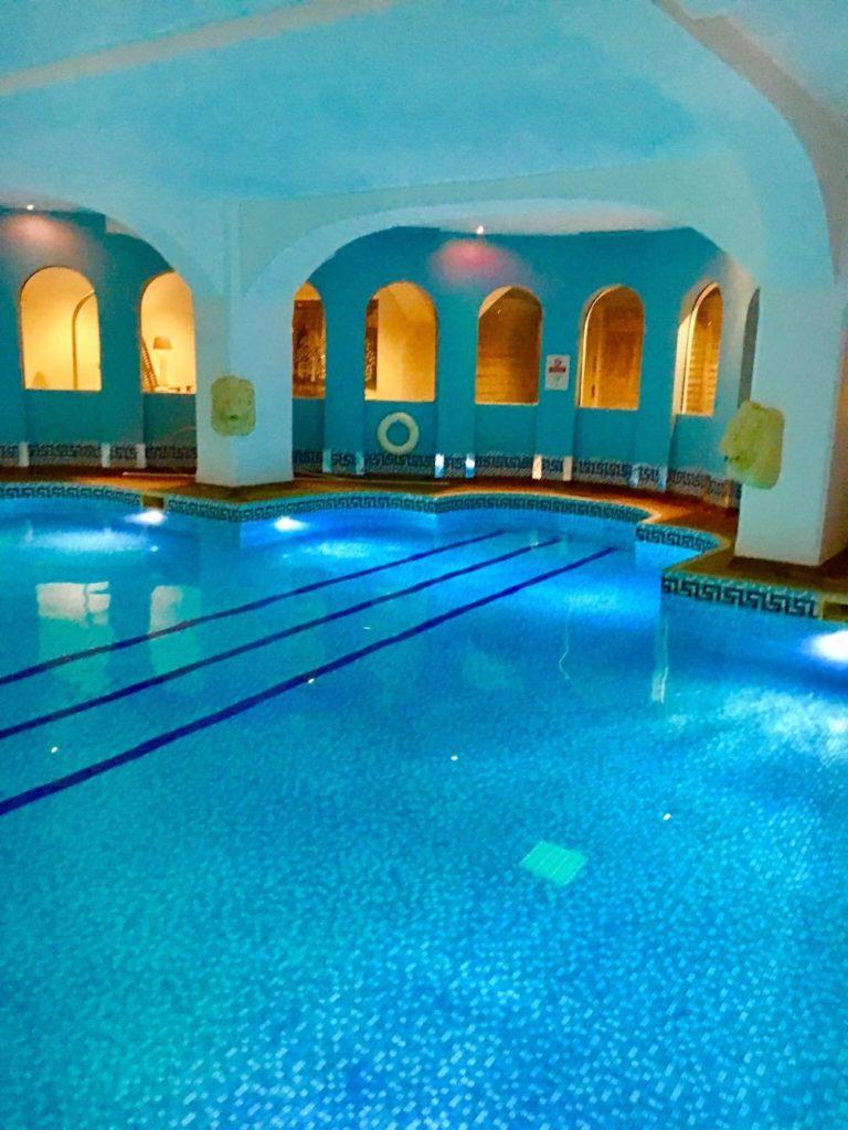 A twilight spa experience at Hoar Cross Hall