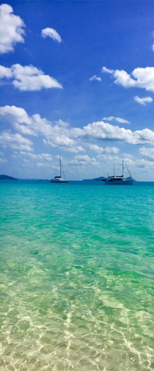Whitehave beach in the Whitsundays