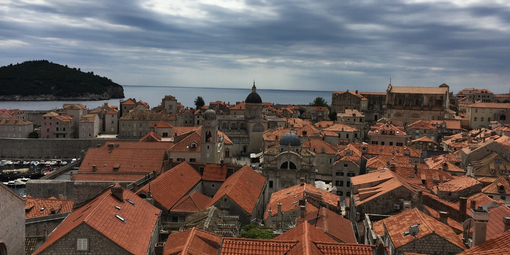 Dubrovnik view from the walls