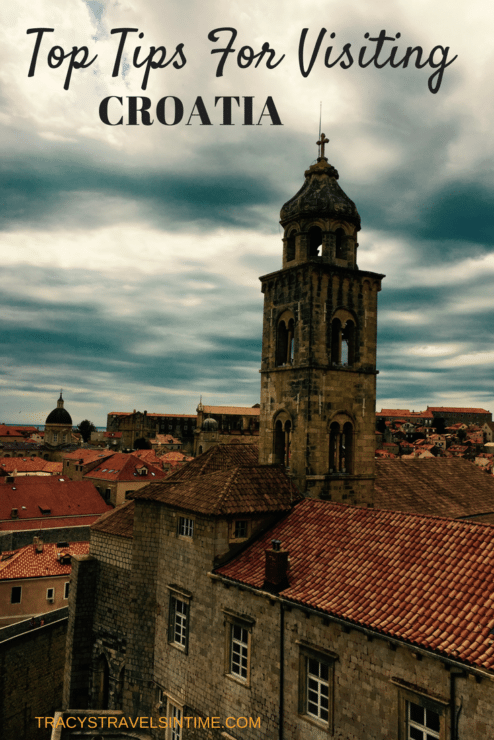 Top 10 tips for visiting Croatia with a photograph of Dubrovnik