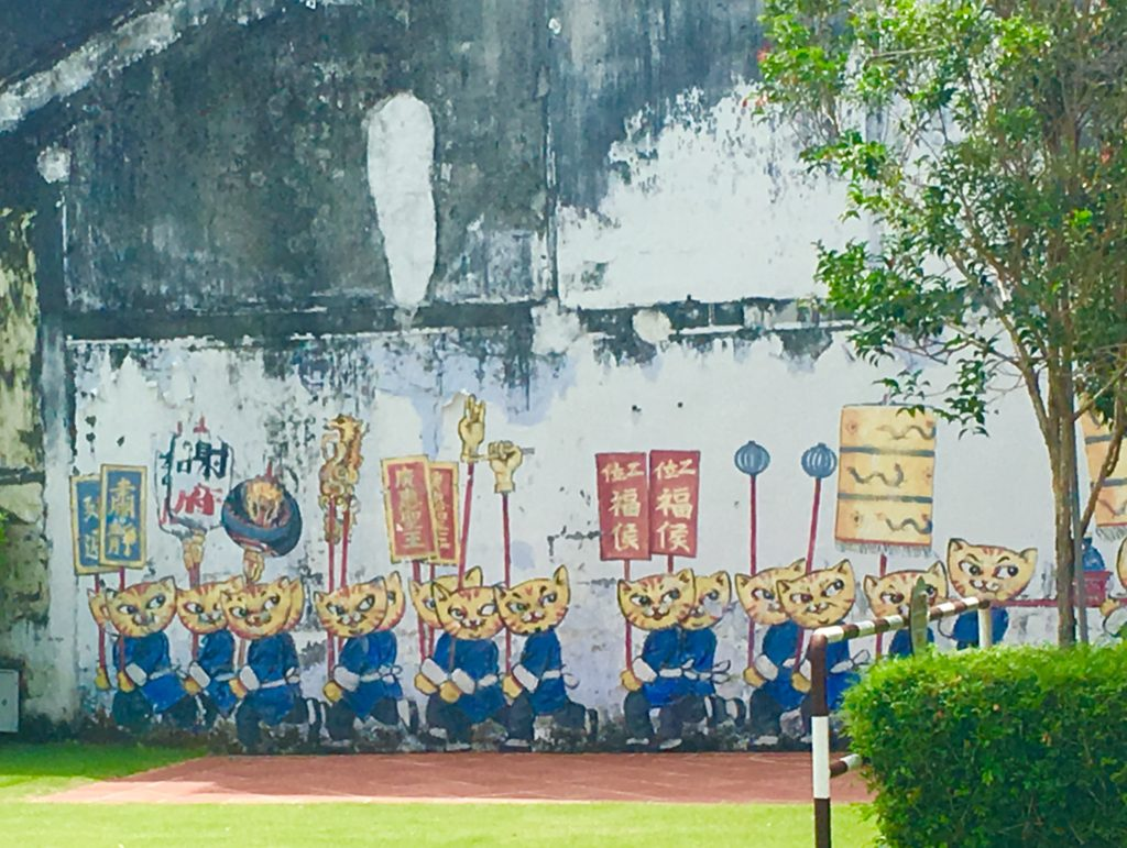A guide to the street art of Penang