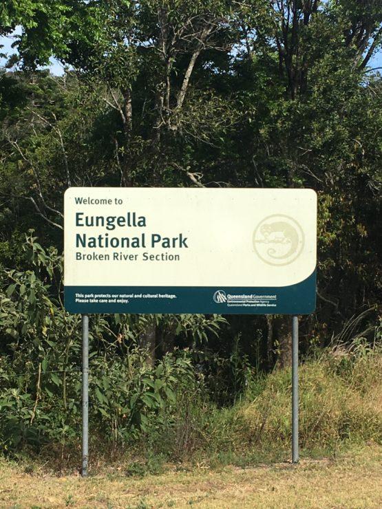 BROKEN RIVER AT EUNGELLA NATIONAL PARK