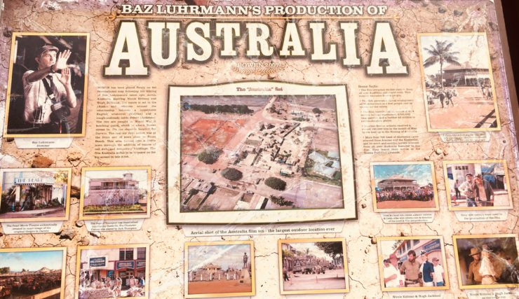 the set of the movie Australia was in Bowen
