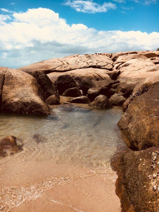 Rock pool at Rose Bay Bowen