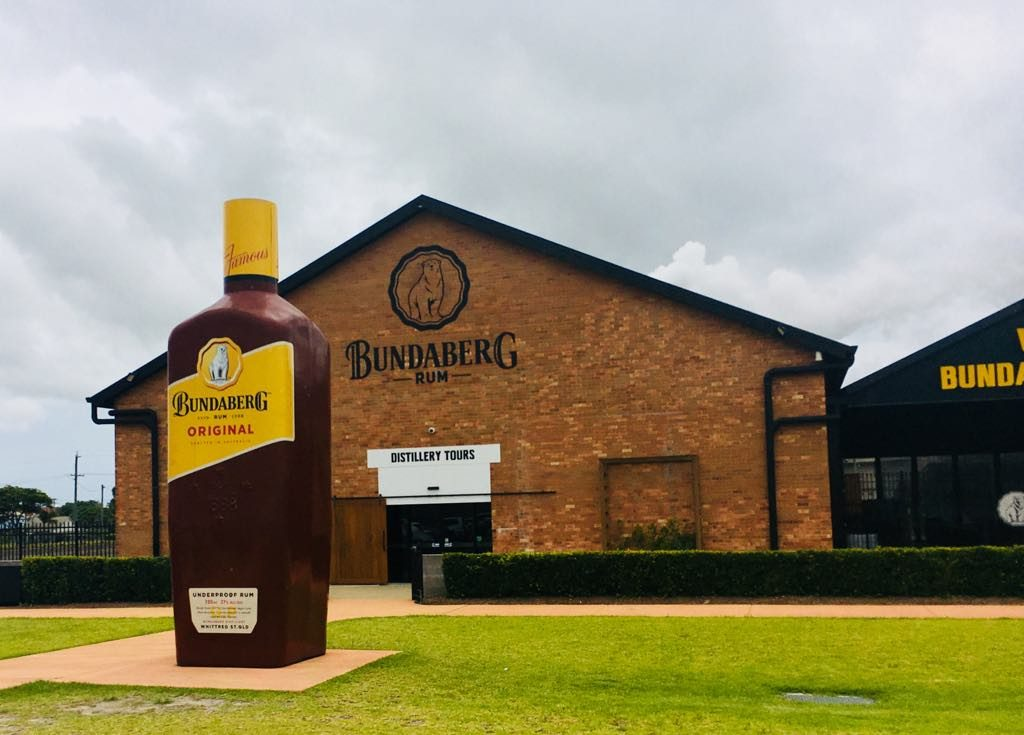 | The Best Things to Do in Queensland Australia featured by top international travel blogger, Tracy's Travels in Time: Bundaberg rum factory