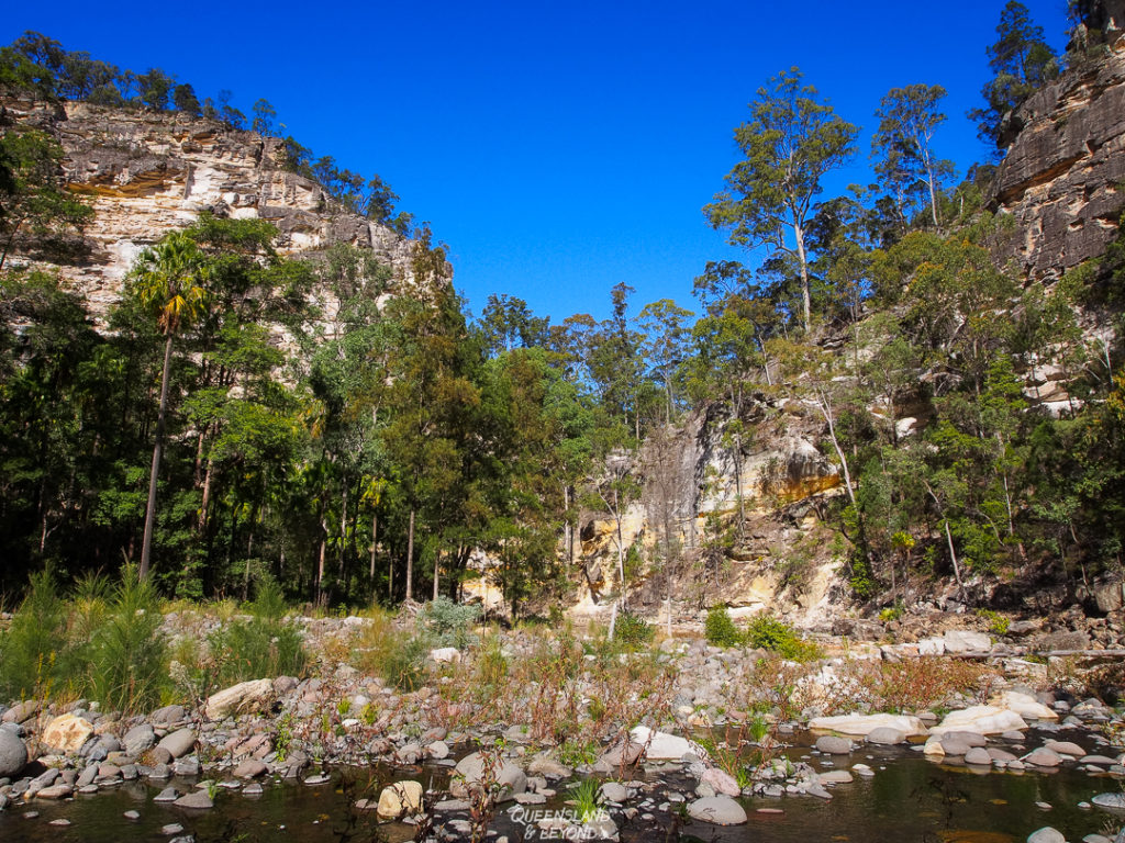 | The Best Things to Do in Queensland Australia featured by top international travel blogger, Tracy's Travels in Time: Carnarvon Gorge National Park