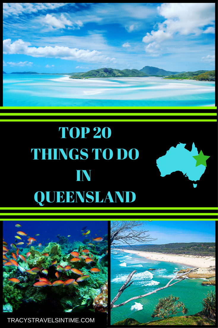 | The Best Things to Do in Queensland Australia featured by top international travel blogger, Tracy's Travels in Time: