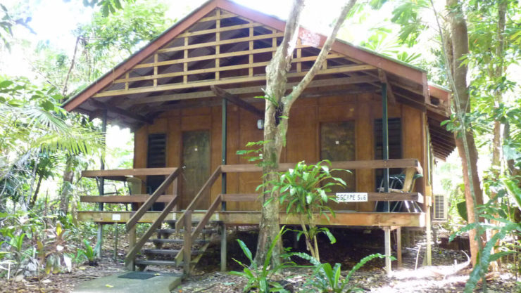 a house at Cape Tribulation