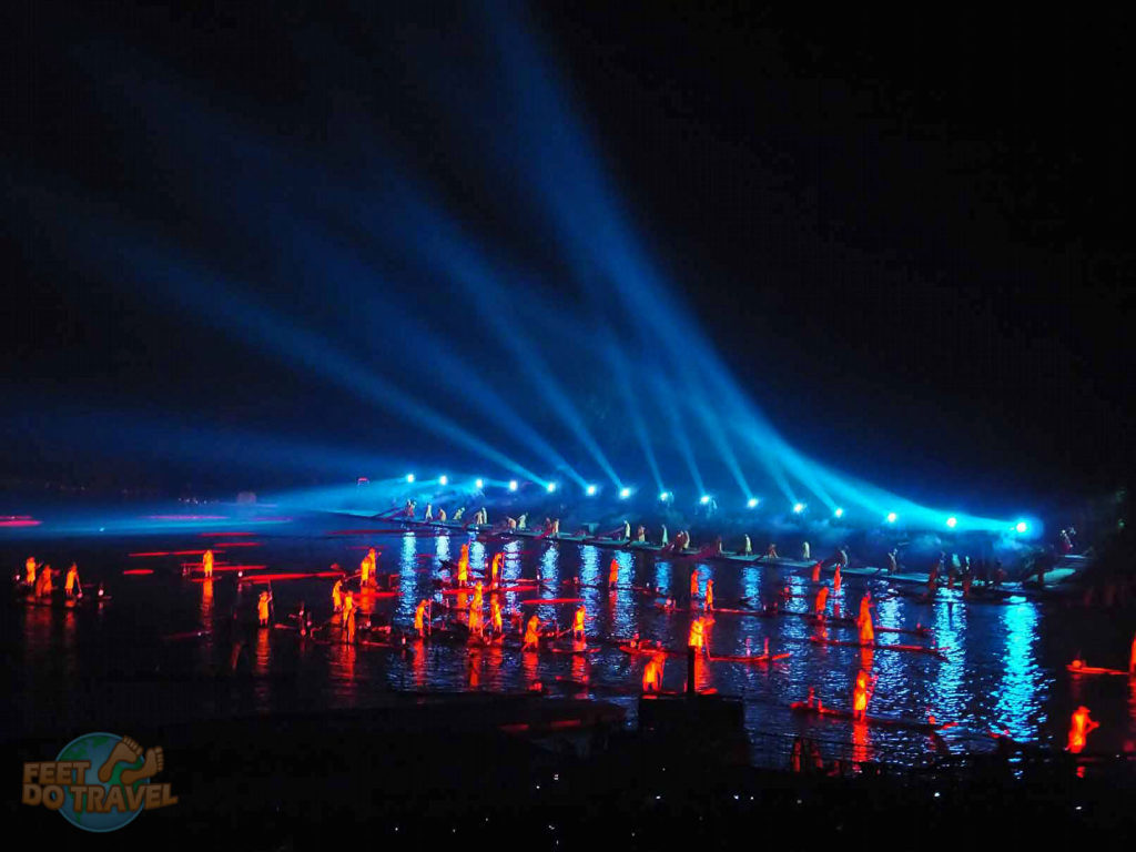 light shows China