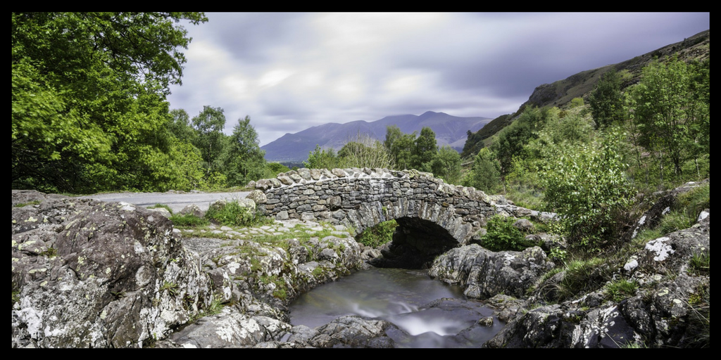 UK WORLD HERITAGE SITES THE LAKE DISTRICT IN ENGLAND