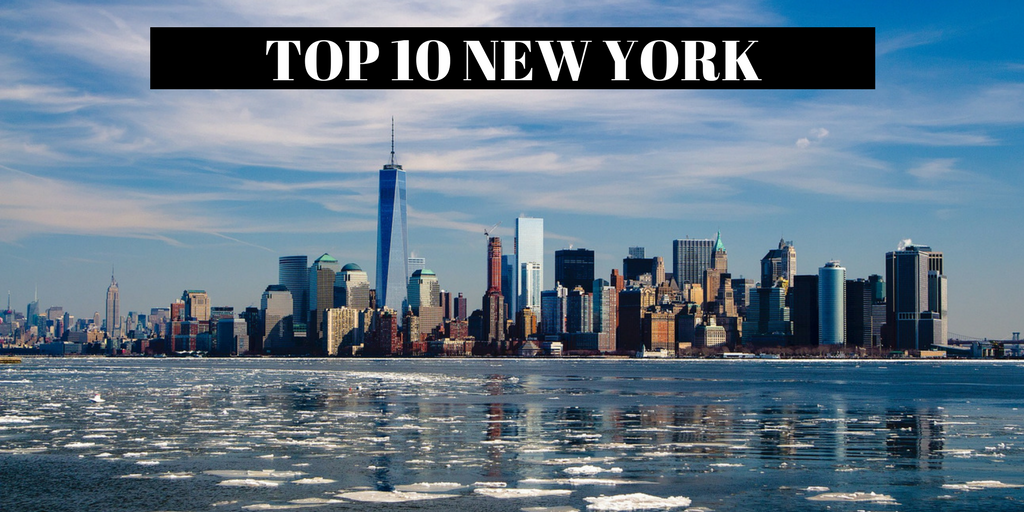places to visit USA - TOP 10 NEW YORK