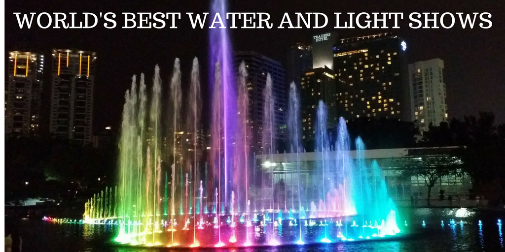 WATER AND LIGHT SHOWS