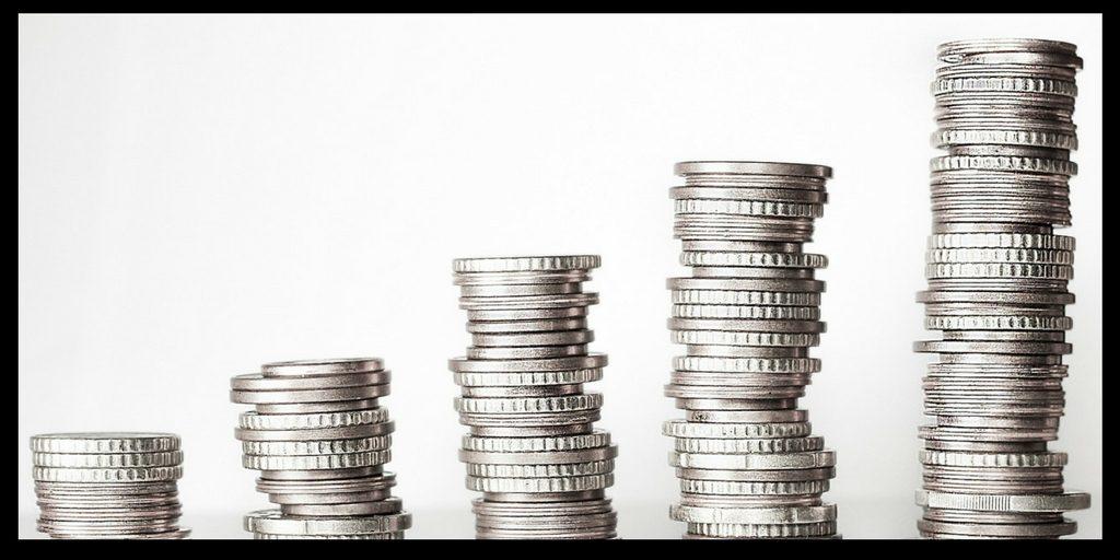 money money money - piles of coins