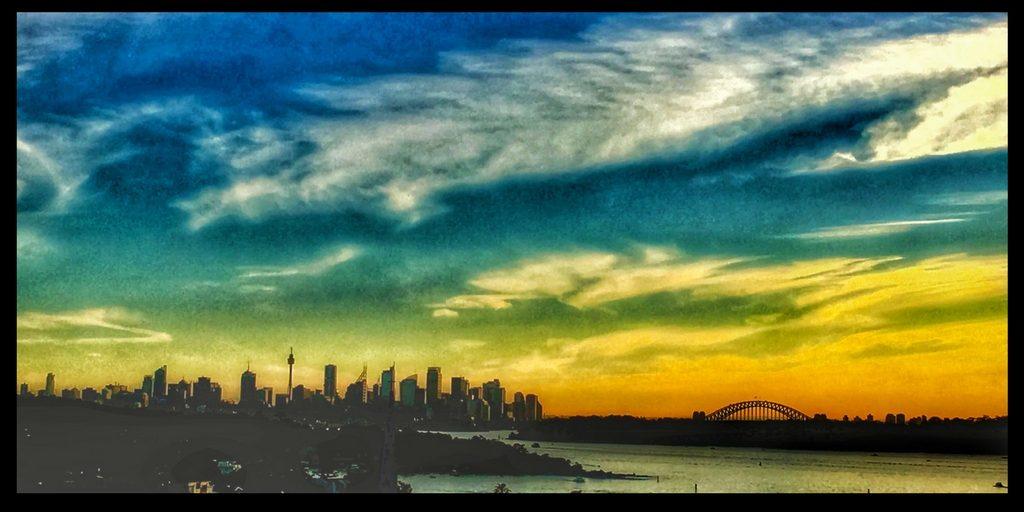 sydney skyline life in australia