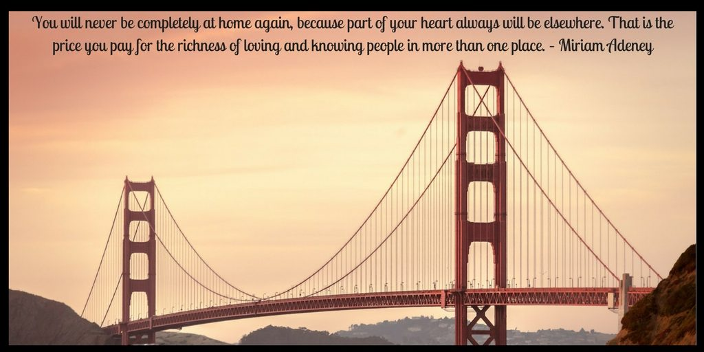 LIVING ABROAD QUOTE