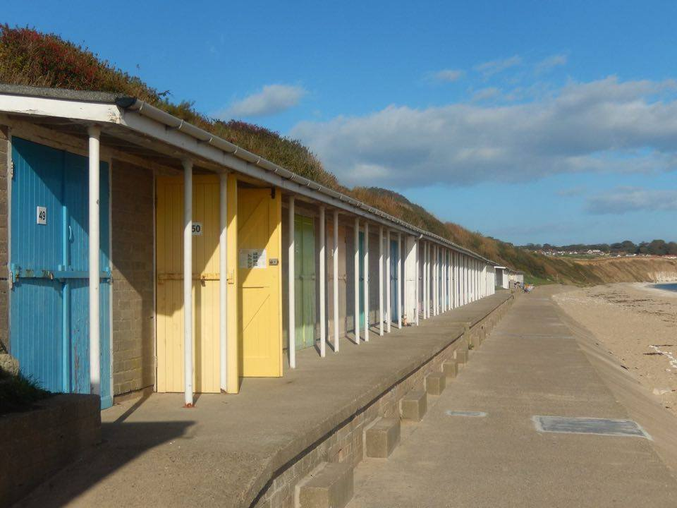 beach huts in bridlington