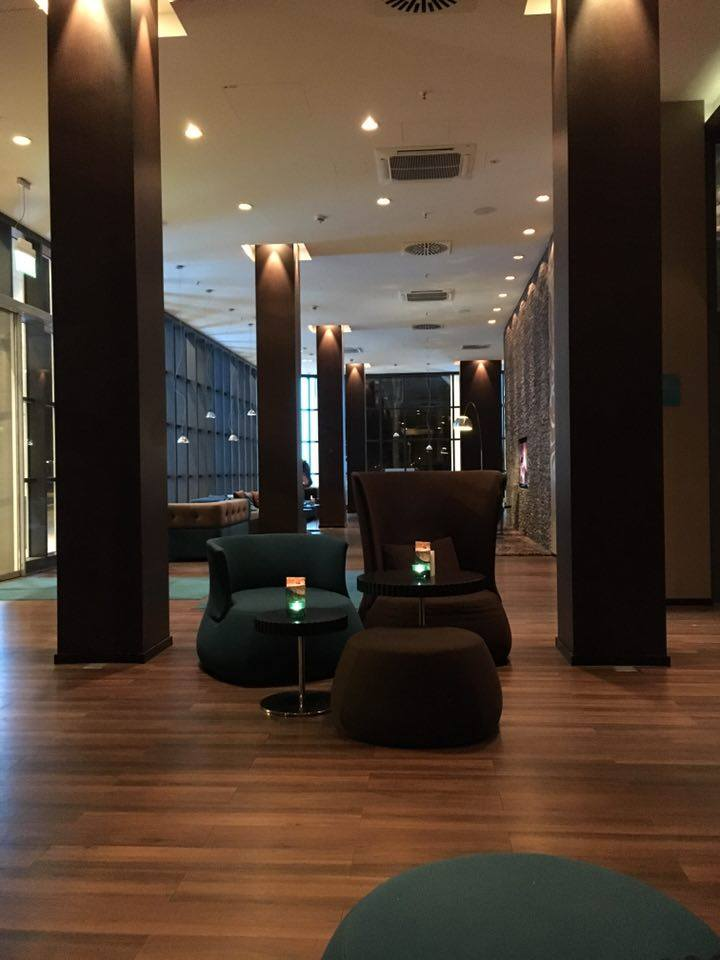 lobby of Motel One