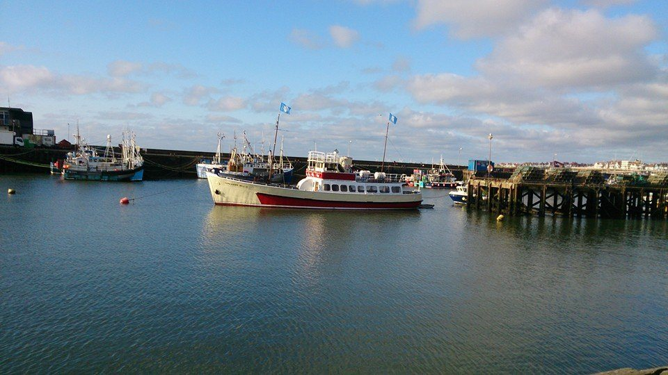 Harbour in Bridglington uk