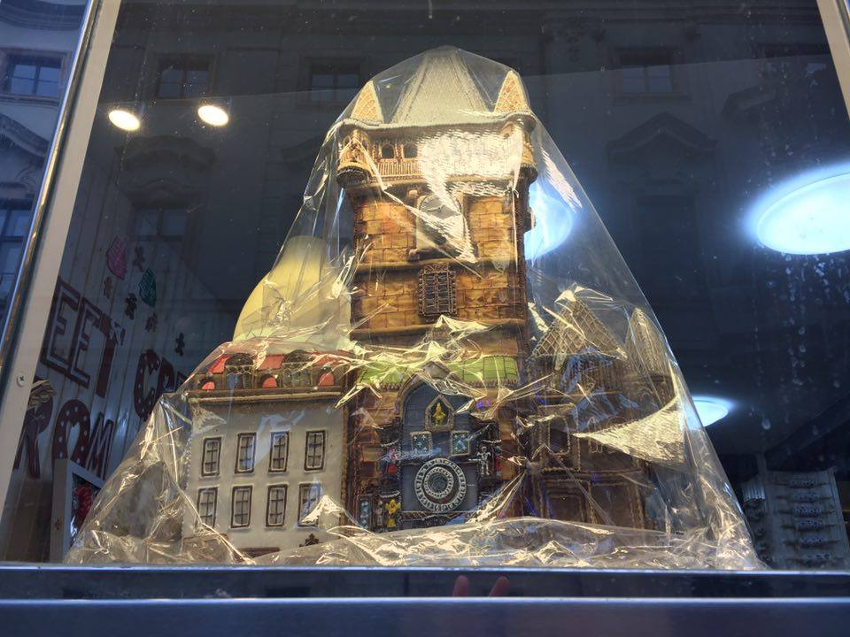 Prague - gingerbread shop