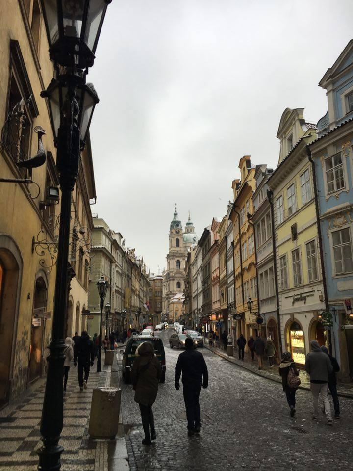 Prague the LESSER QUARTER or Malá Strana.