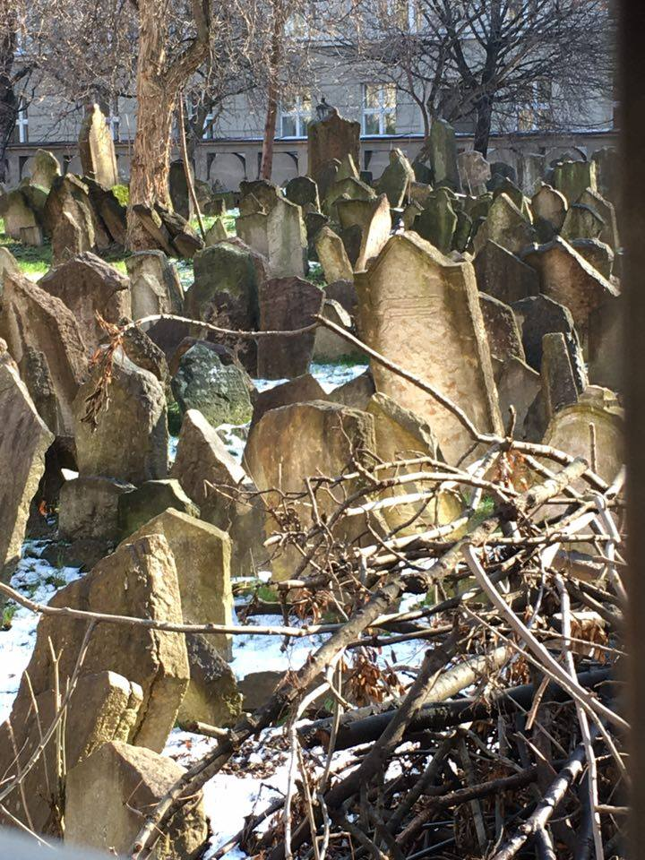 Prague The old Jewish cemetery