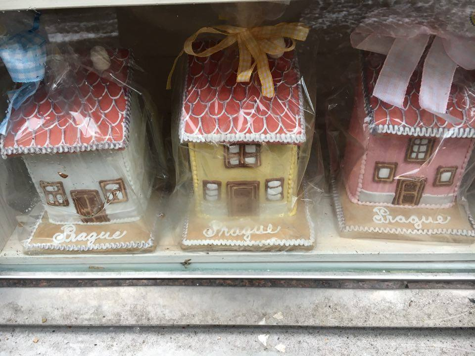 Prague - gingerbread house shop