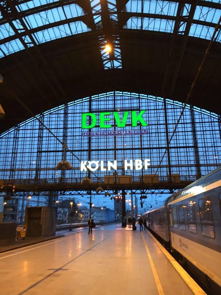 Cologne London/Berlin/Prague a train journey