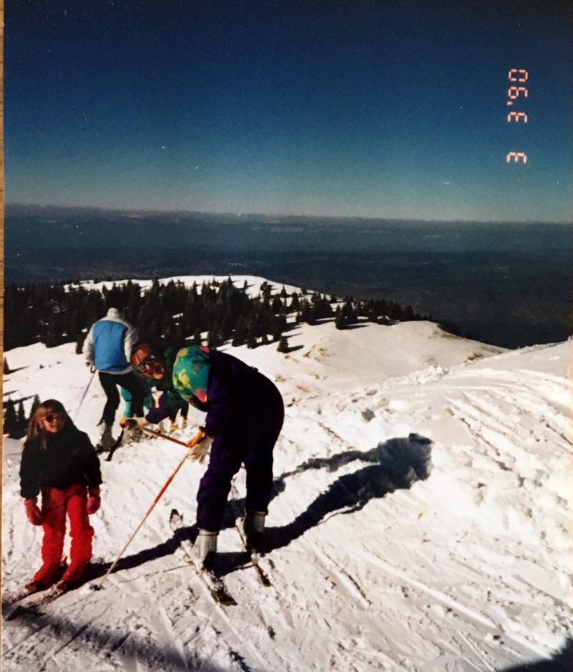 skiing in Thollon solo travel