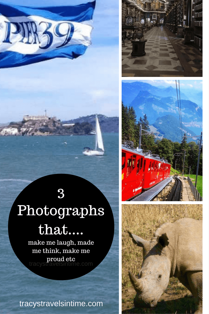 3 photographs that