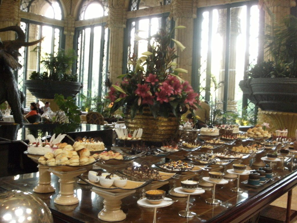 afternoon tea at the Lost palace