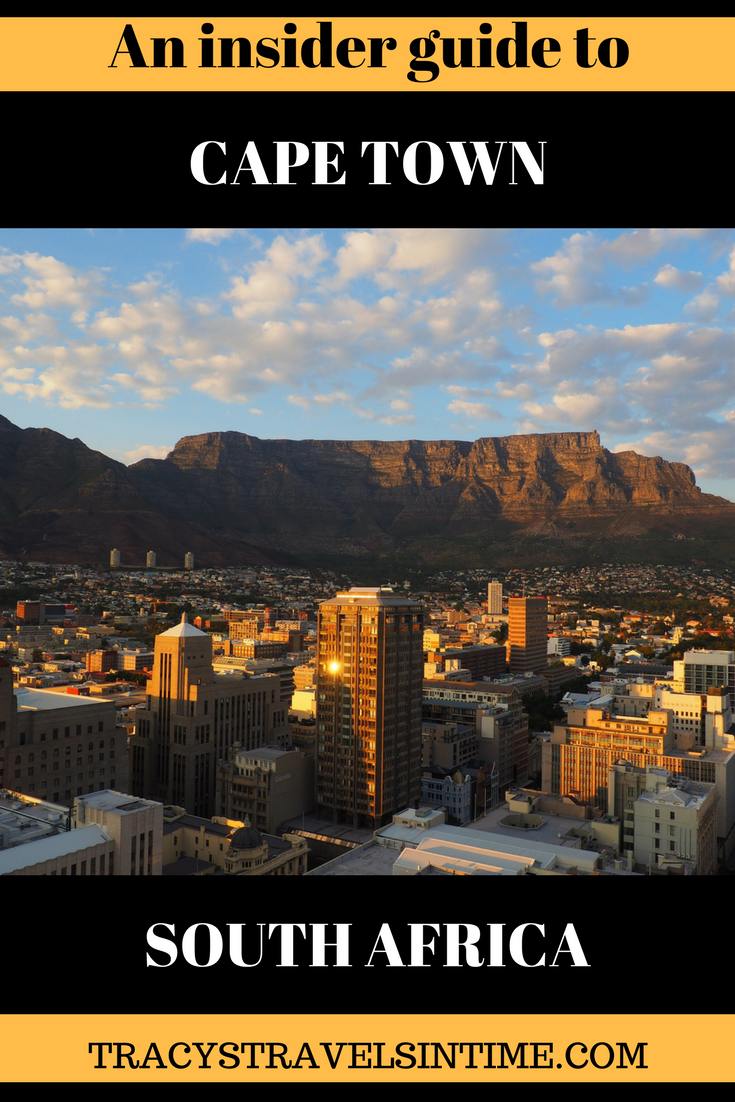 A guide to Cape Town South Africa written by a resident of the city