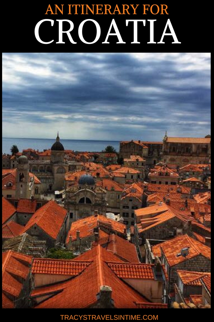 AN ITINERARY FOR CROATIA | The Ultimate Croatia itinerary featured by top international travel blogger, Tracy's Travels in Time