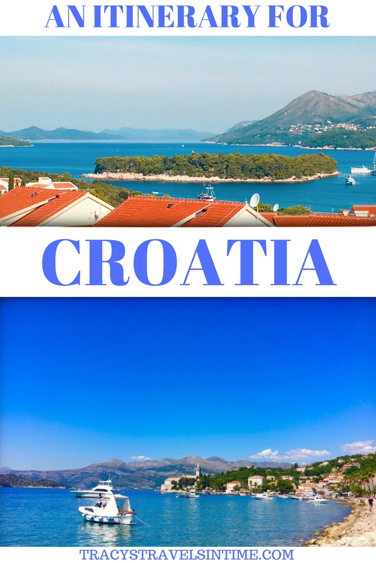 AN ITINERARY FOR CROATIA