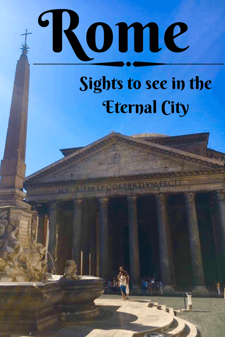 Sights to see in the Eternal City