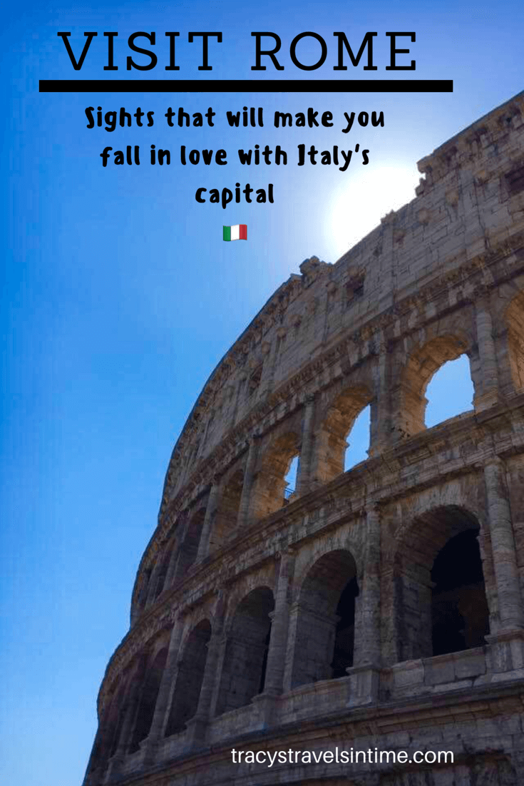 See the sights of Rome