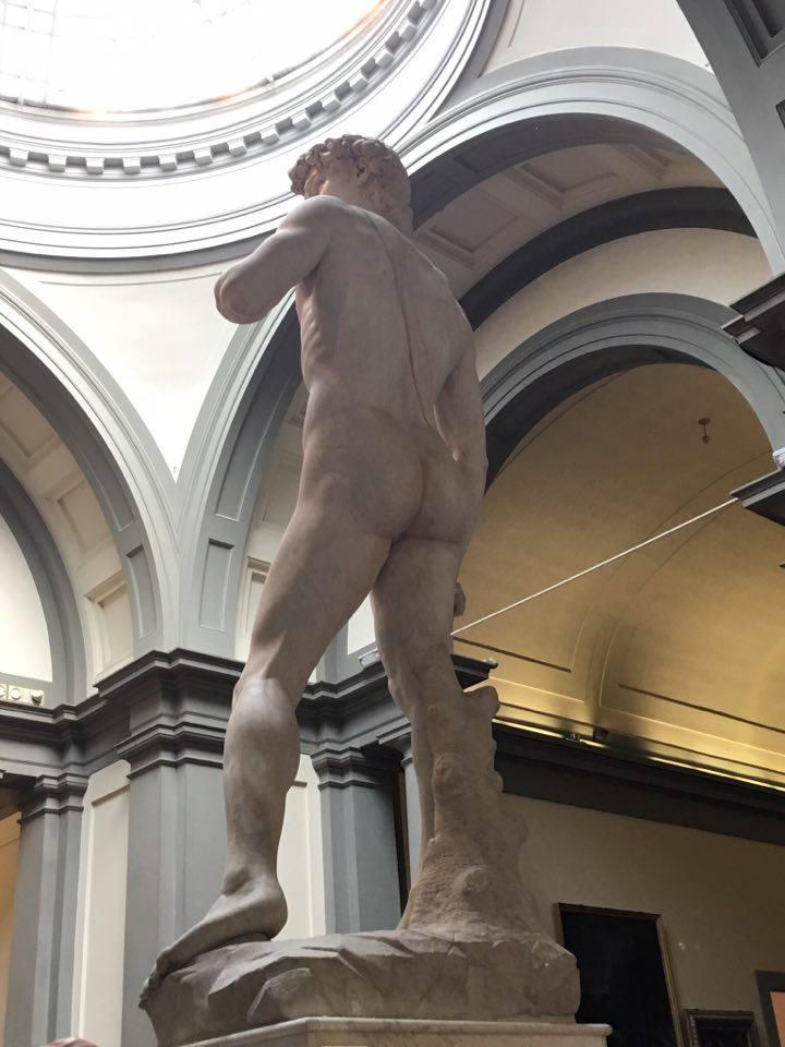 David's bum