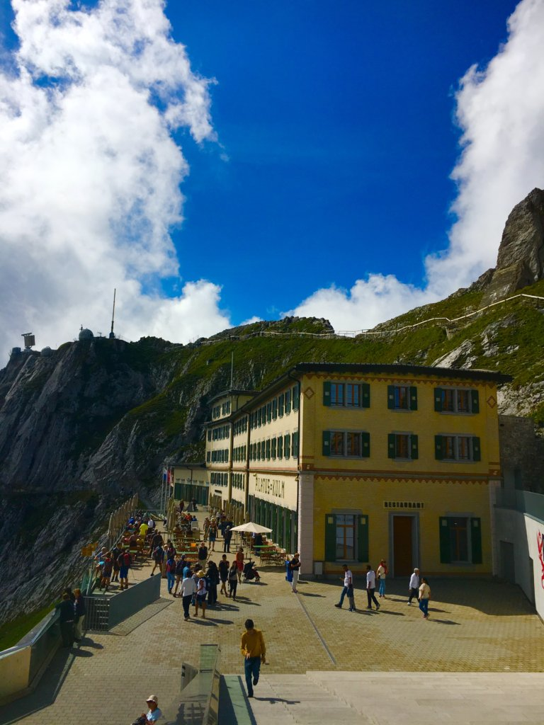 the top of Mt Pilatus | Golden round trip to Mount Pilatus featured by top international travel blogger, Tracy's Travels in Time