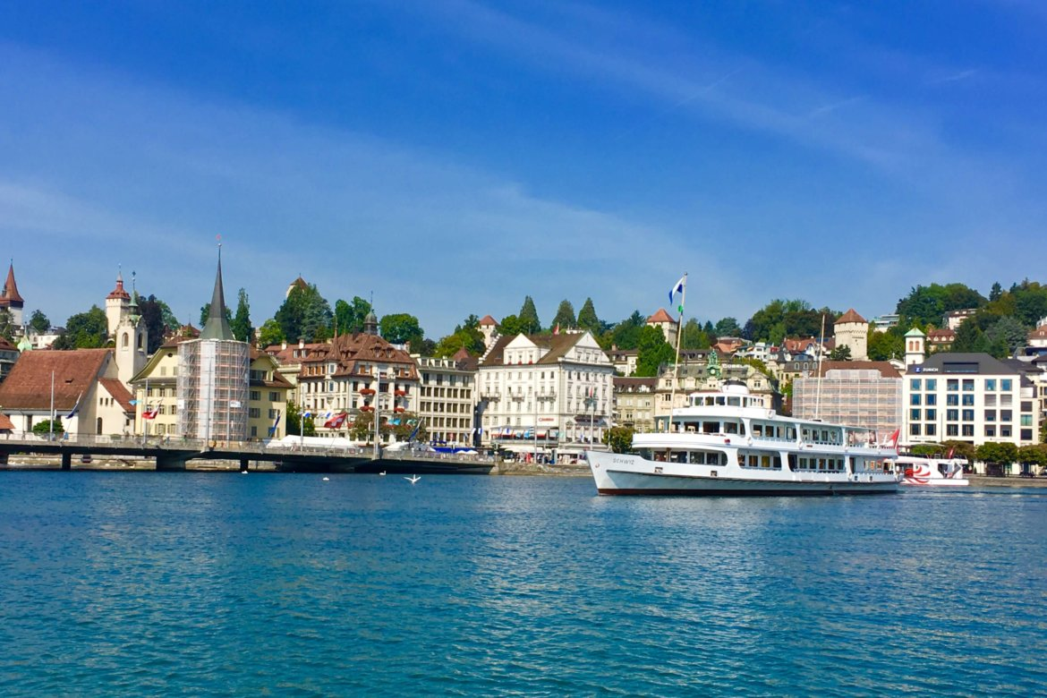 wonderful views of Lucerne ON THE GOLDEN ROUND TRIP TO PILATUS | Golden round trip to Mount Pilatus featured by top international travel blogger, Tracy's Travels in Time