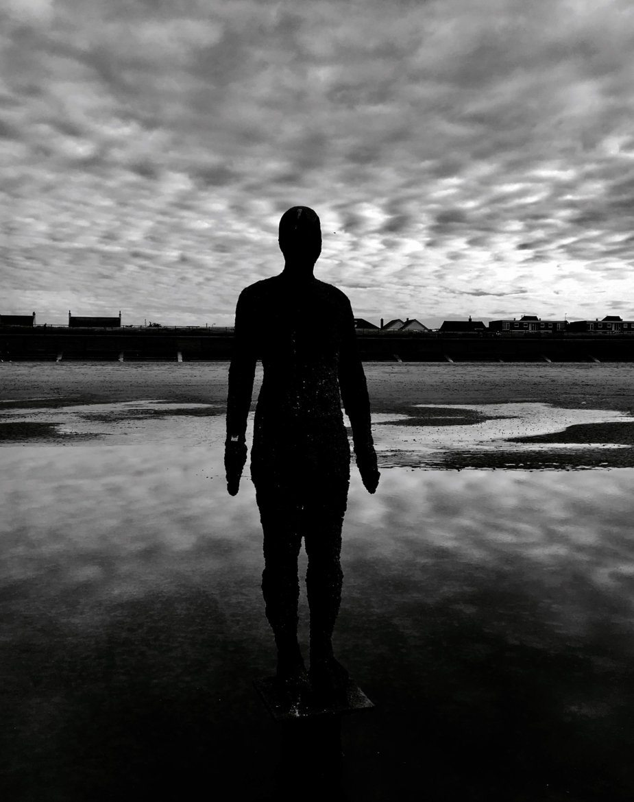 Anthony Gormley's Another Place on Crosby Beach